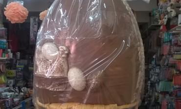 Necochea tiene huevo… de pascuas y gigante