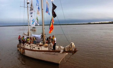 Sindicalista necochenses se va de expedición en la Fragata Sanmartiniana