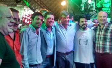 Florentín y Ordoqui pasaron el Día del Trabajador en Córdoba con Mariotto