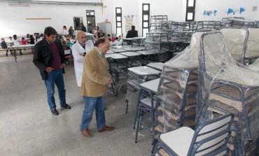 El Ministerio de Educación de Nación envió mobiliario para la Escuela Nº 49 de Quequén