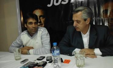 Alberto Fernández vino a darle el apoyo a Facundo López