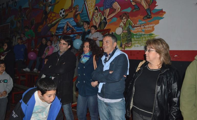 Facundo López participó de los festejos del Aniversario 161 de Quequén