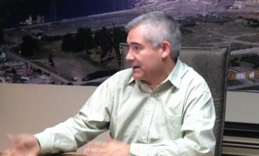 Goicoechea anunció la licitación de la obra de profundización del puerto