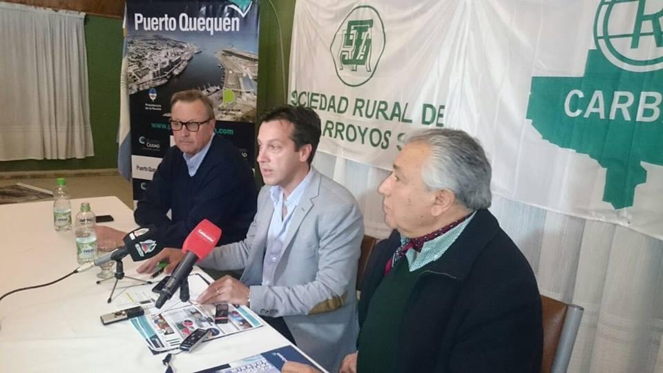 Rojas en la apertura de la Exposición Rural de Tres Arroyos ...