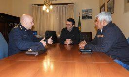 López recibió al nuevo jefe de la Departamental