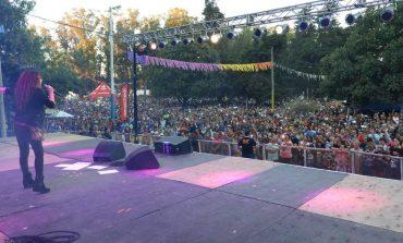 Una multitud en el espectáculo de Patricia Sosa