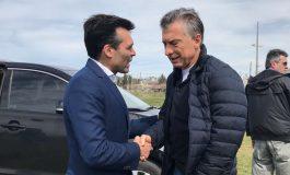 López recibió al presidente y hablaron sobre las obras en el distrito