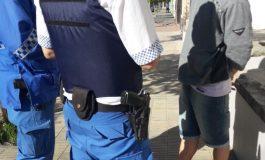 Amenazaba a su ex pareja y fue apresado por la policía