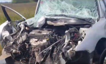Cuatro necochenses heridos en un accidente en ruta 88