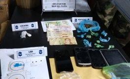 Atrapan en Balcarce una banda que se dedicaba a la venta de LSD, cocaína y marihuana