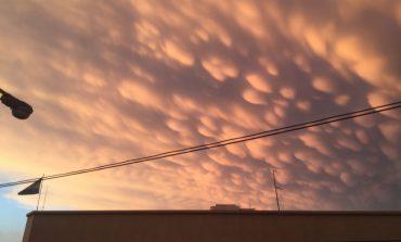 Espectáculo de algodones en el cielo