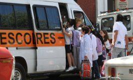 Una empresa local se hará cargo del transporte escolar