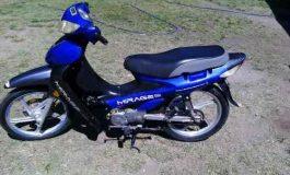 Atrapan a ladrón que robó tres motos en un día