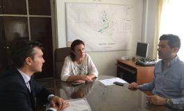Dominguez Yelpo se reunió con fiscalía y la cúpula policial local