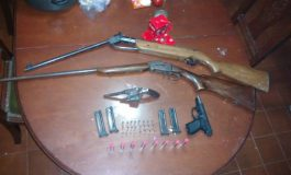 Septuagenario detenido por amenazar a su hija con un arma de fuego