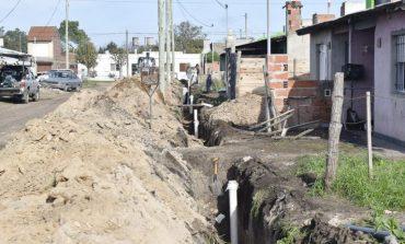 36 familias beneficiadas con las cloacas en el barrio 20 de Noviembre