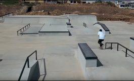 Avances para construir el skatepark en Necochea