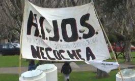 Se manifestaron contra la participación de las FFAA en seguridad interior
