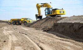Comenzaron las excavaciones para los molinos del parque Eólico