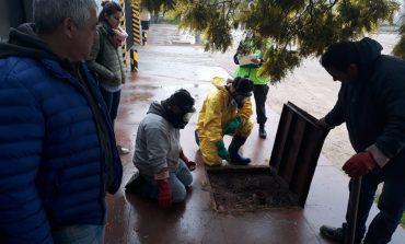 Detectaron fosfato en las cloacas de Barrio Norte. Debieron evacuar viviendas