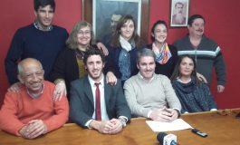 Presentaron la lista Unidad Partidaria: Unibaso para presidente de la UCR y Diez precandidato a intendente