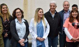 Después de 12 años Claraz tiene una médica
