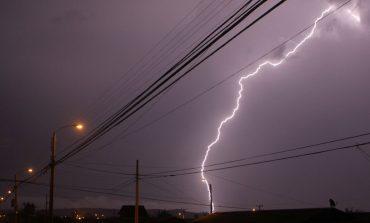 Hay alerta por tormentas eléctricas