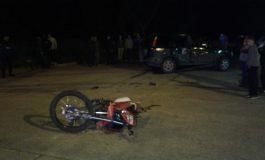Murió un joven luego de chocar con su moto