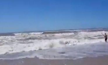 Un hombre rescató a una nena de 13 años con su caña de pescar