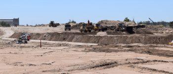 En un mes llega la primera carga de molinos eólicos a Puerto Quequén