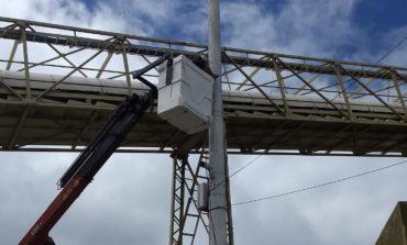Colocaron cámaras de monitores en ingresos y egresos a Puerto Quequén
