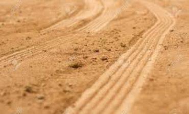 La arena manchada