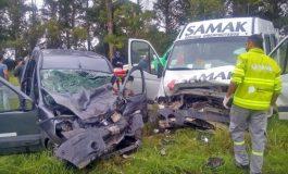 Accidente en Ruta 88: Un muerto y un necochense en grave estado