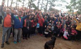 Exitosa caminata solidaria por Diego Ortega