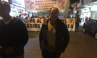 Rago sigue acompañando la lucha de los casineros