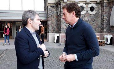 """Diez se reunió con Santilli y hablaron de la instalación de """"Puntos Seguros"""""""