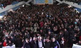 López lanzó la campaña  del Frente de Todos con Alberto, Axel y Sergio