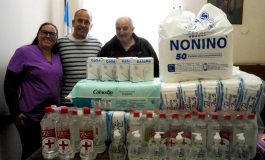 Vecinos donaron insumos al hospital Irurzun