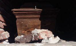Denuncias por el estado de abandono de un sector del cementerio