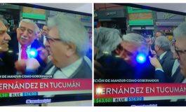 Ayala acompañó a Alberto Fernández en la asunción de Juan Manzur