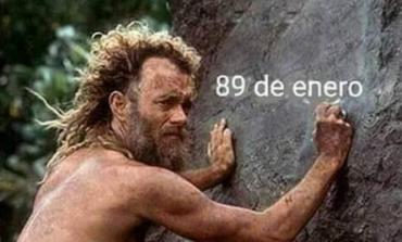"""En las redes: memes por el """"enero eterno"""""""
