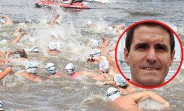 Continúa la búsqueda terrestre del nadador Bermejo