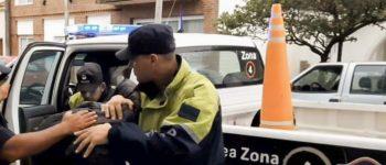 Detienen a arrebatadores que quedaron registrados por las cámaras de monitoreo