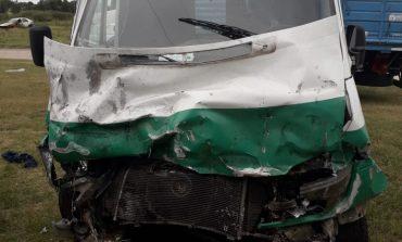 Dieron de alta a uno de los ambulancieros heridos en el choque contra un toro