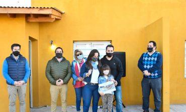 Entregaron 32 viviendas del Barrio Los Tilos VI