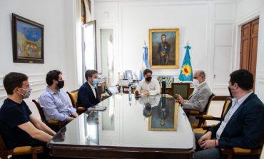 Rojas se reunió con el flamante presidente del Consorcio de Puerto Quequén