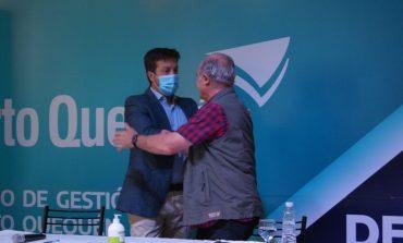 """Álvaro asumió en el Puerto: """"me voy a encargar personalmente de la cuestión ambiental"""""""