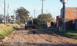 El Ente Vial ya entoscó la Av. 10, calles del parque y un sector de Barrio Norte