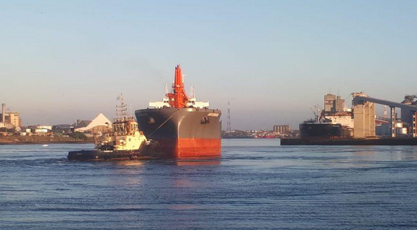 Puerto Quequén operó 80 buques en el primer cuatrimestre de 2021