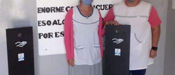 El Consorcio entregó elementos de cuidado sanitario a todas las escuelas de Quequén